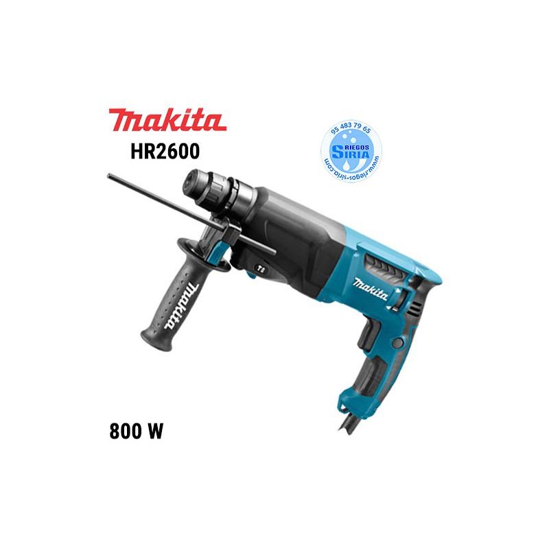 Martillo Ligero Makita 800W 26mm. HR2600 HR2600