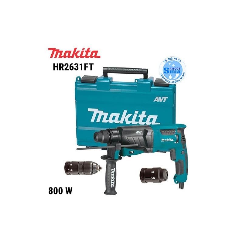 Martillo Ligero Makita 800W 26mm. AVT HR2631FT HR2631FT