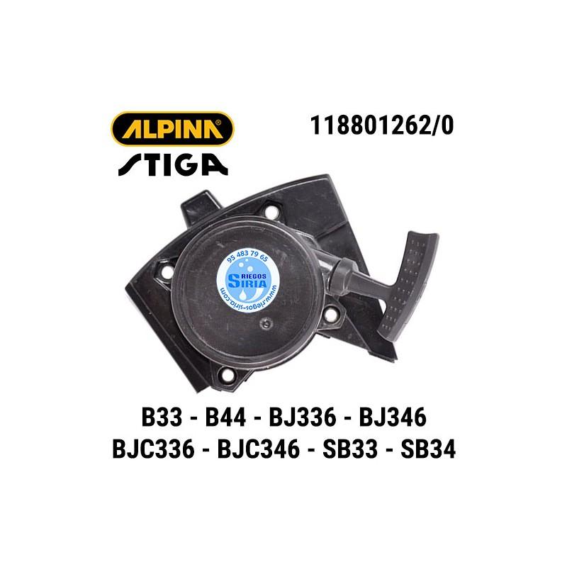 Arrancador Alpina Stiga B33 B33D B44 B44D BJ336 BJ346 BJC336 BJC346 SB33 SB33D SB34 SB34D 160119