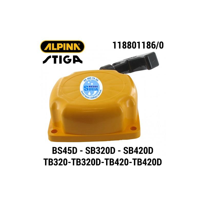 Arrancador Alpina Stiga BS45D SB320D SB420D TB320 TB420 TB320D TB420D 160123