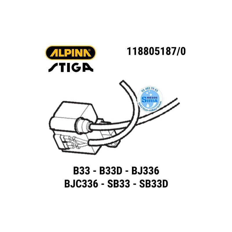 Bobina Alpina Stiga B33 B33D BJ336 BJC336 SB33 SB33D 160102