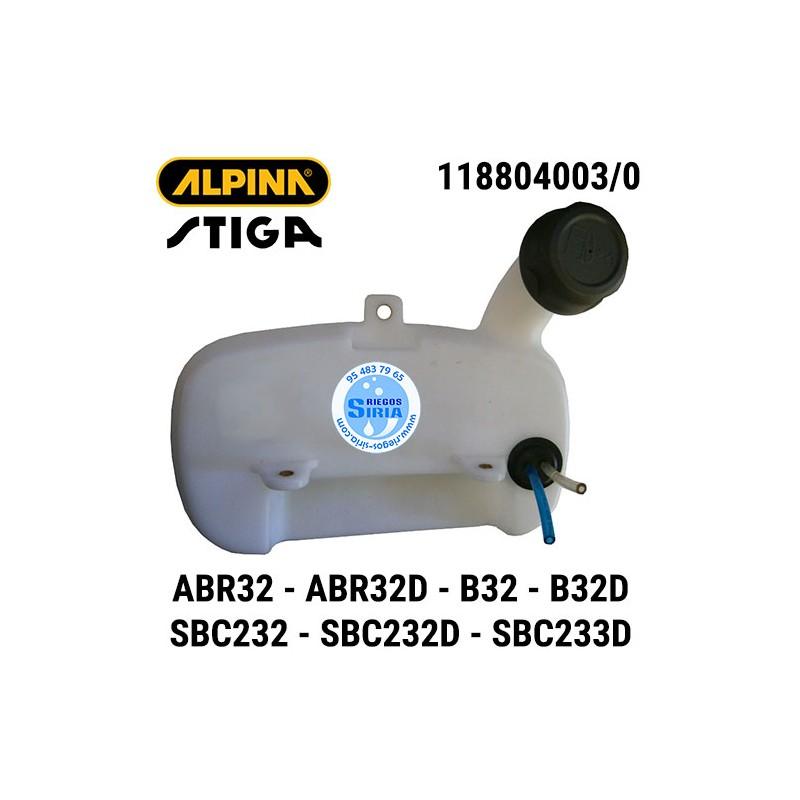 Depósito Gasolina Alpina Stiga ABR32 ABR32D B32 B32D SBC232 SBC232D SBC233D 160105
