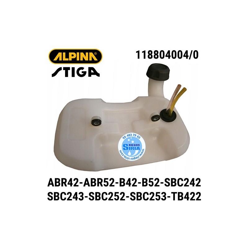 Depósito Gasolina Alpina Stiga ABR42 ABR52 B42 B52 SBC242 SBC243D SBC252 SBC253D TB422D 160104
