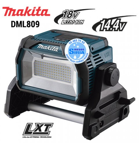 Foco de Trabajo LED 14.4V 18V LXT DML809 DML809
