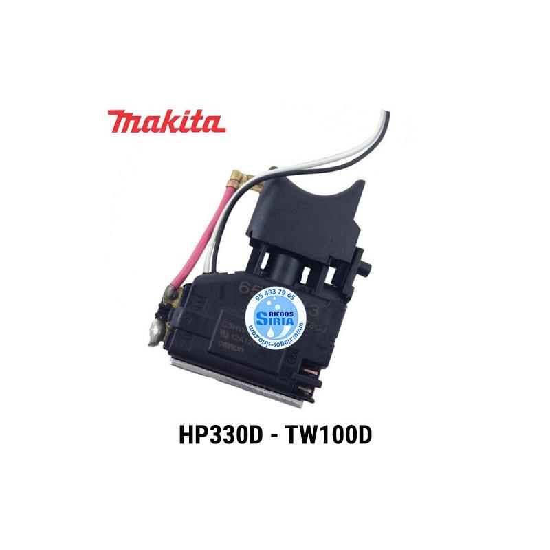 Interruptor Makita HP330D TW100D 650691-3