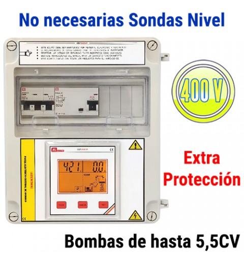 Cuadro Eléctrico Digital Bombas Hasta 5,5CV 400V con Diferencial CD1DG31-1B