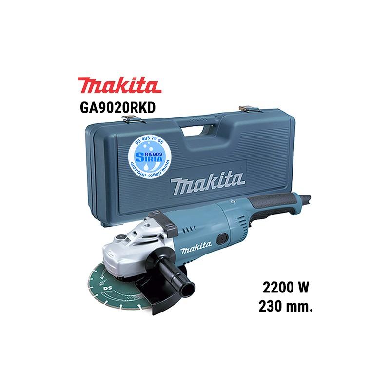 Amoladora Makita 2200W 230mm. SAR Maletín GA9020RKD GA9020RKD