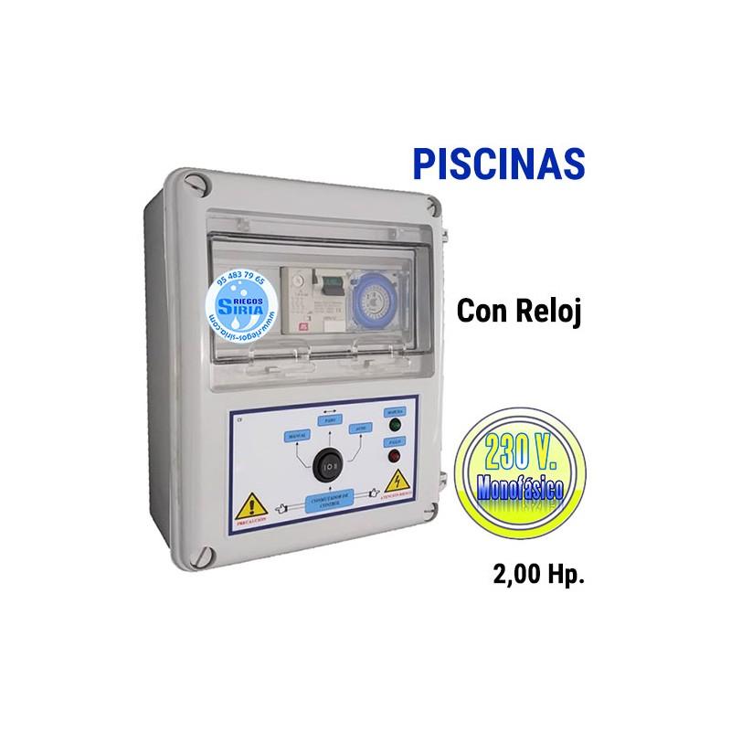 Cuadro Eléctrico Bomba Piscina 2,00CV 230V CF204