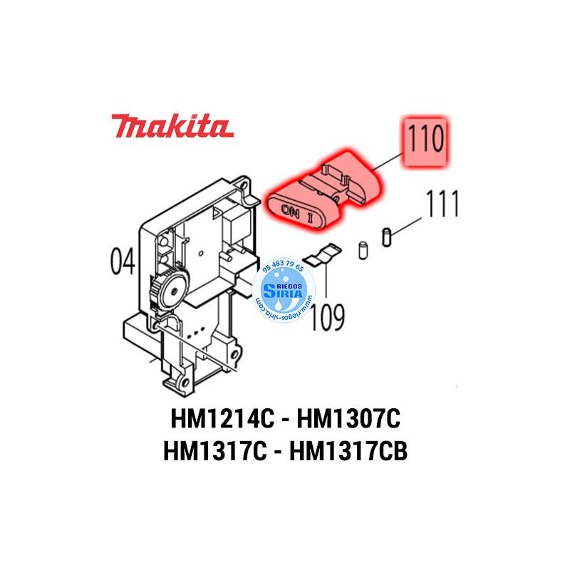 Palanca Bloqueo Makita HM1214C HM1307C HM1317C HM1317CB 451112-6