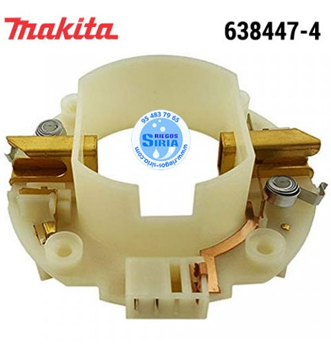 Portaescobillas Makita HM1203 HM1213 HM1214 HM1307 HM1317 HR4501 HR4511 HR5201 HR5211 638447-4