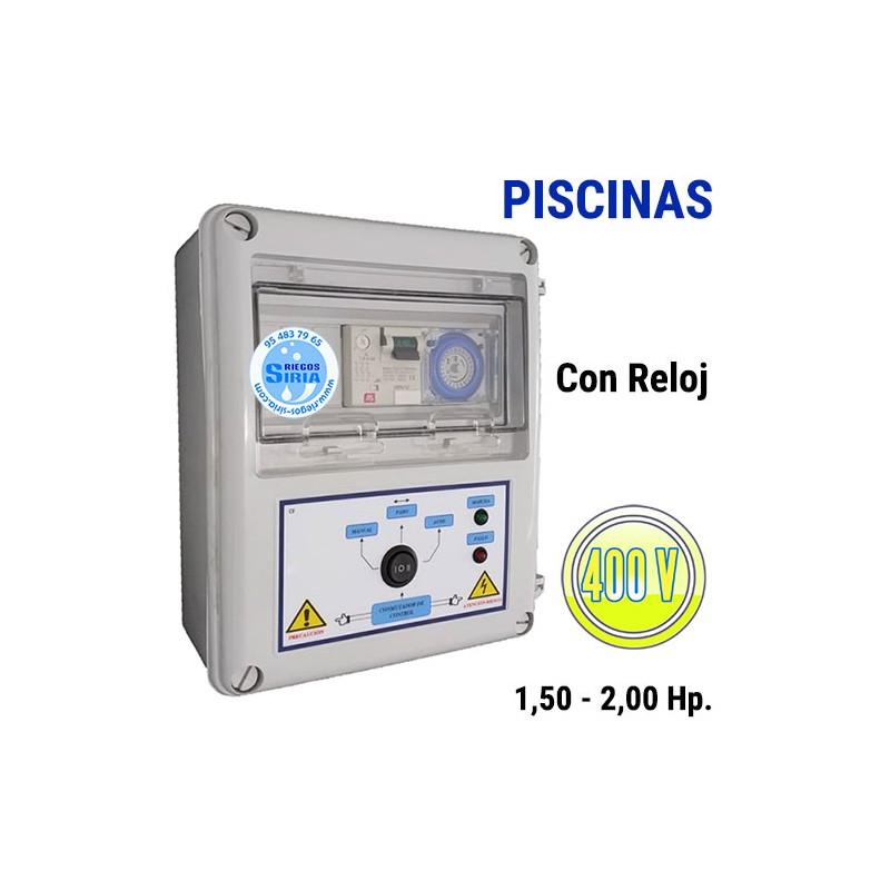 Cuadro Eléctrico Piscinas 1,50-2,00CV 400V CF404