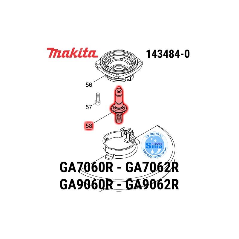 Eje Completo Makita GA7060R GA7062R GA9060R GA9062R 143484-0