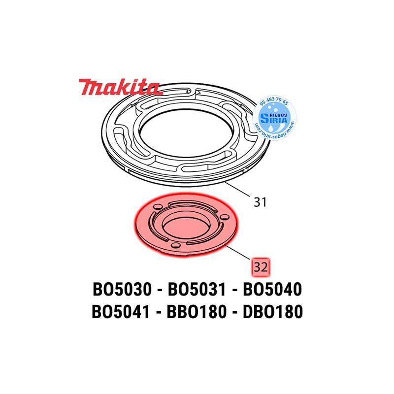Protector Rodamiento Makita BBO180 BO5030 BO5031 BO5040 BO5041 DBO180 M9204 MT924 318303-1