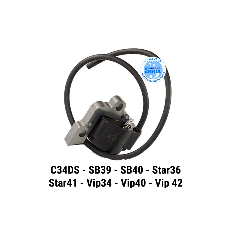 Bobina compatible C34DS SB39 SB40 SB52 STAR36 STAR41 VIP34 VIP40 VIP42 160048
