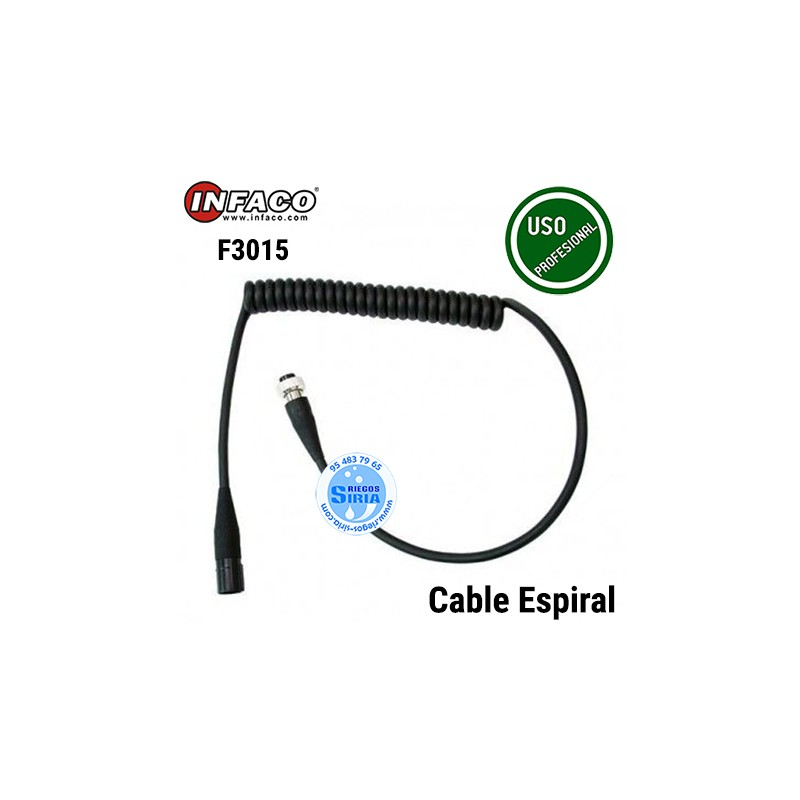 Cable Espiral Infaco F3015 88825S