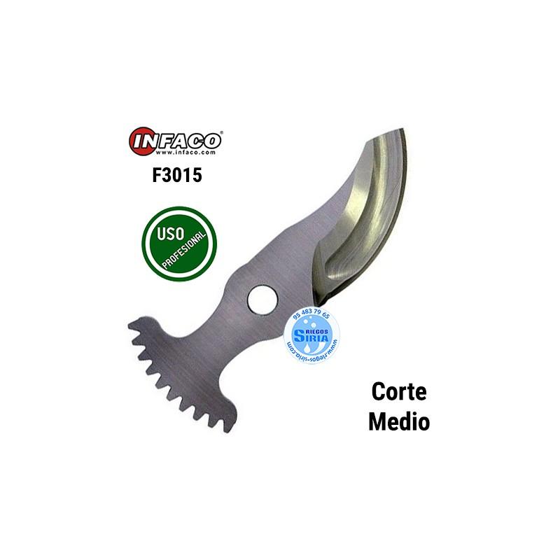 Cuchilla Acero Corte Medio Infaco F3015 88807LM