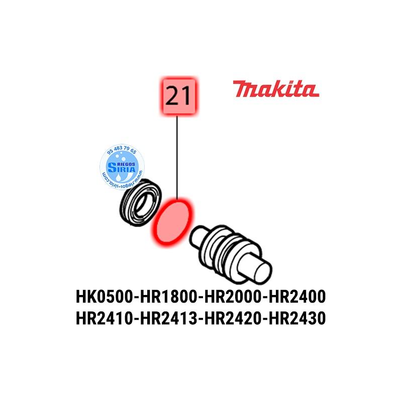 Junta Tórica 16 Makita DTW190 HK0500 HR160D HR1800 HR2000 HR2400 HR2410 HR2413 HR2420 HR2430 HR2431 213214-4