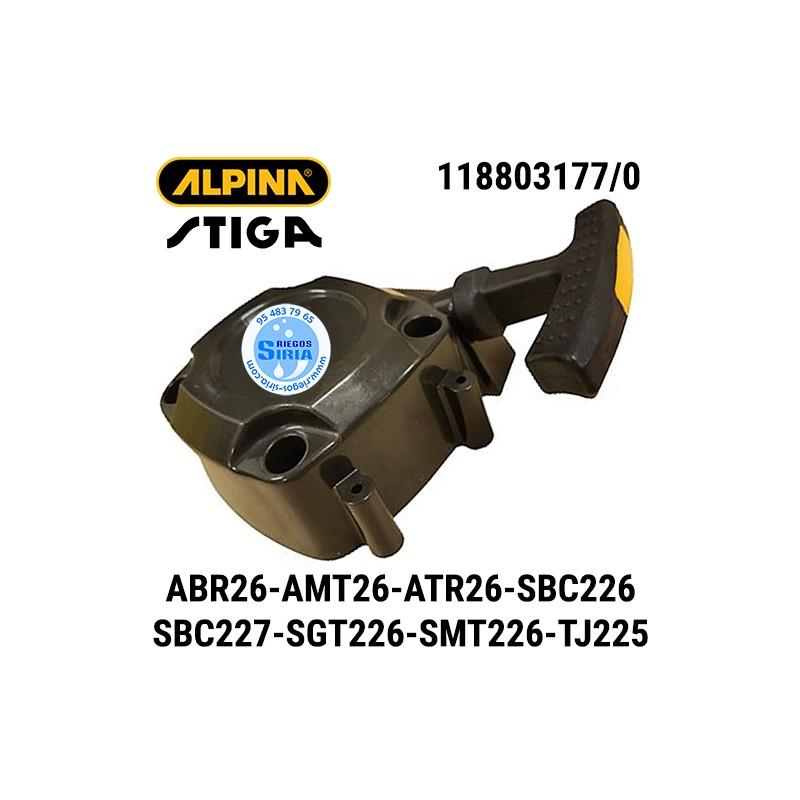 Arrancador Alpina Stiga ABR26J ABR26JD AMT26 ATR26J SBC226J SBC226JD SBC227D SBC227J SGT226J SMT226 TJ225X 160134
