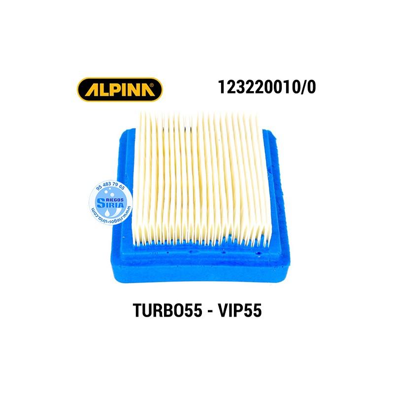 Filtro de Aire Alpina TURBO55D VIP55 VIP55D VIP55F 160062