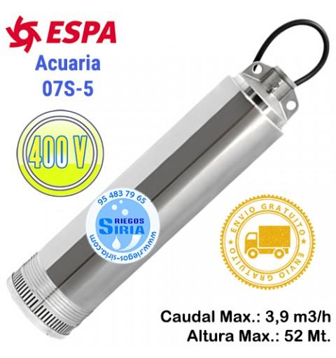 Bomba de Agua Sumergible Espa Acuaria 07 5 N 209196