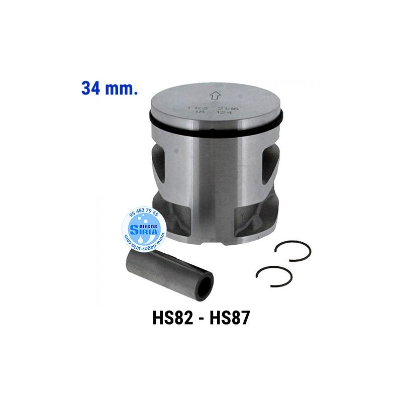 Pistón Completo compatible HS82 HS87 34 mm. 021562