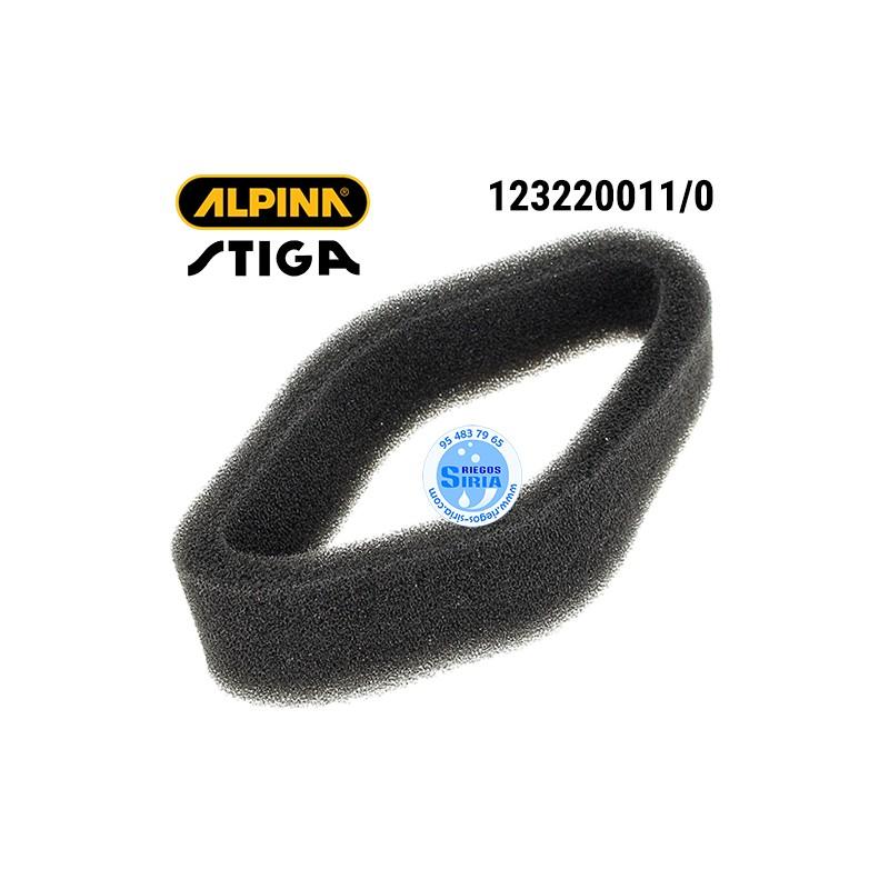 Filtro de Aire Alpina Stiga 123220011/0 160128