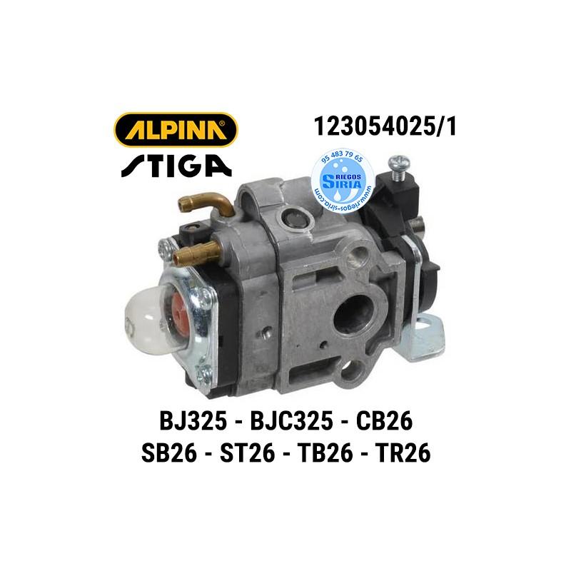 Carburador Alpina Stiga BJ325 BJC325 CB26 SB26 ST26 TB26 TR26 160129