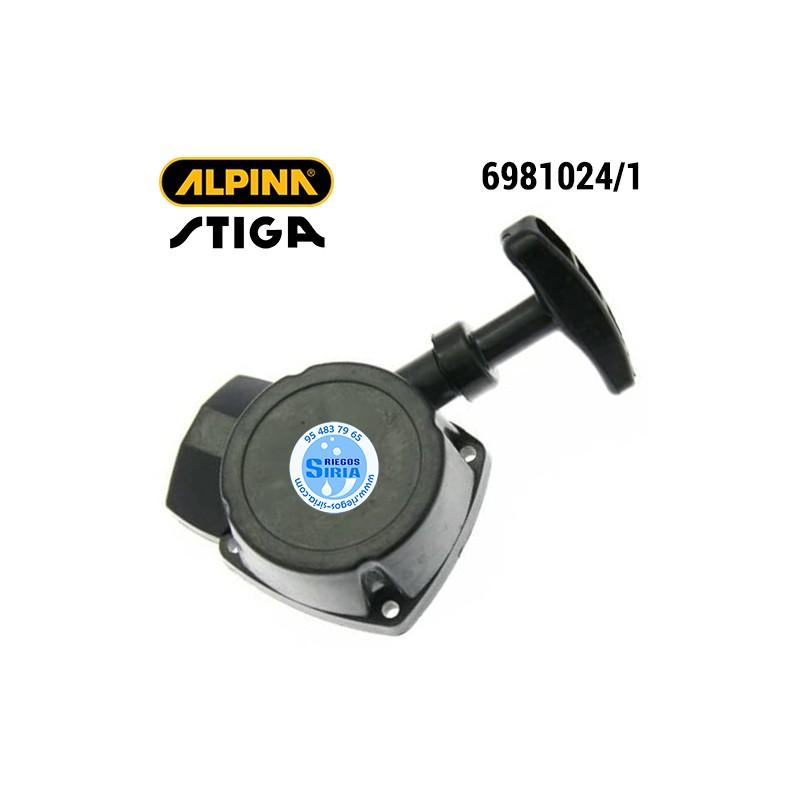 Arrancador Alpina Stiga 528 POWER28 SB25 SB27 SB29 SH160 ST225J ST290 ST291 STAR28 TB25 TR25J TURBO22 VIP28 VIP528 160140