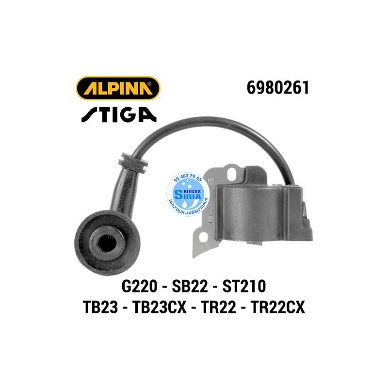 Bobina Alpina Stiga G220 SB22 ST210 TB23 TB23CX TR22 TR22CX 160141