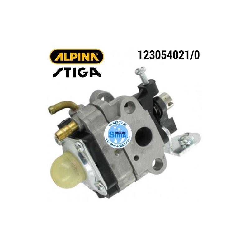 Carburador Alpina Stiga B32 CB27 CB32 CT27 GB27JD SB25J SB27J TB27 TB32 TR27 160043