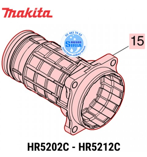 Cañón Completo Makita HR5202C HR5212C 142408-3