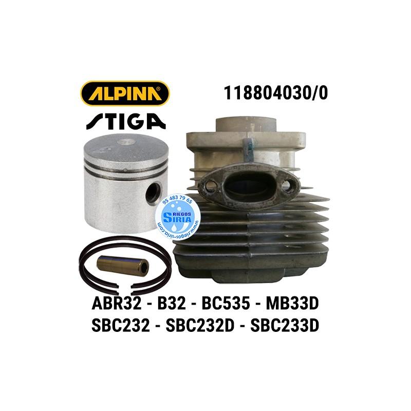 Cilindro Completo Alpina Stiga ABR32 B32 BC535 MB33D SBC232 SBC233 160142