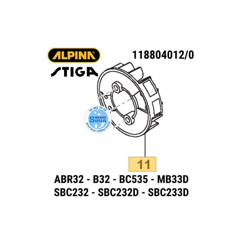 Volante Magnético Alpina Stiga ABR32 B32 BC535 MB33D SBC232 SBC233 160144