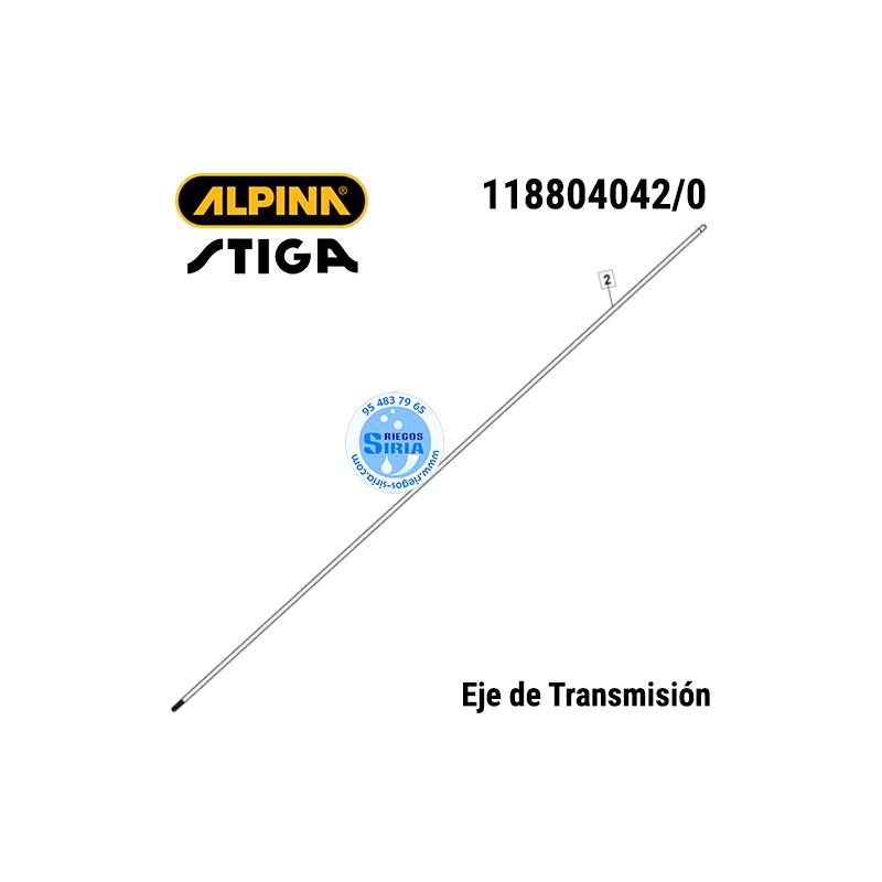 Eje Transmisión Alpina Stiga ABR32 ABR42 ABR52 B32 B42 B52 SBC232 SBC233 SBC242 SBC243 SBC252 SBC253 TB422 130485