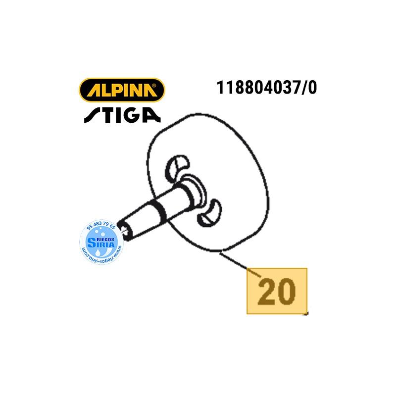Campana Embrague Alpina Stiga ABR32 ABR42 ABR52 B32 B42 B52 SBC232 SBC233 SBC242 SBC243 SBC252 SBC253 TB422 160110