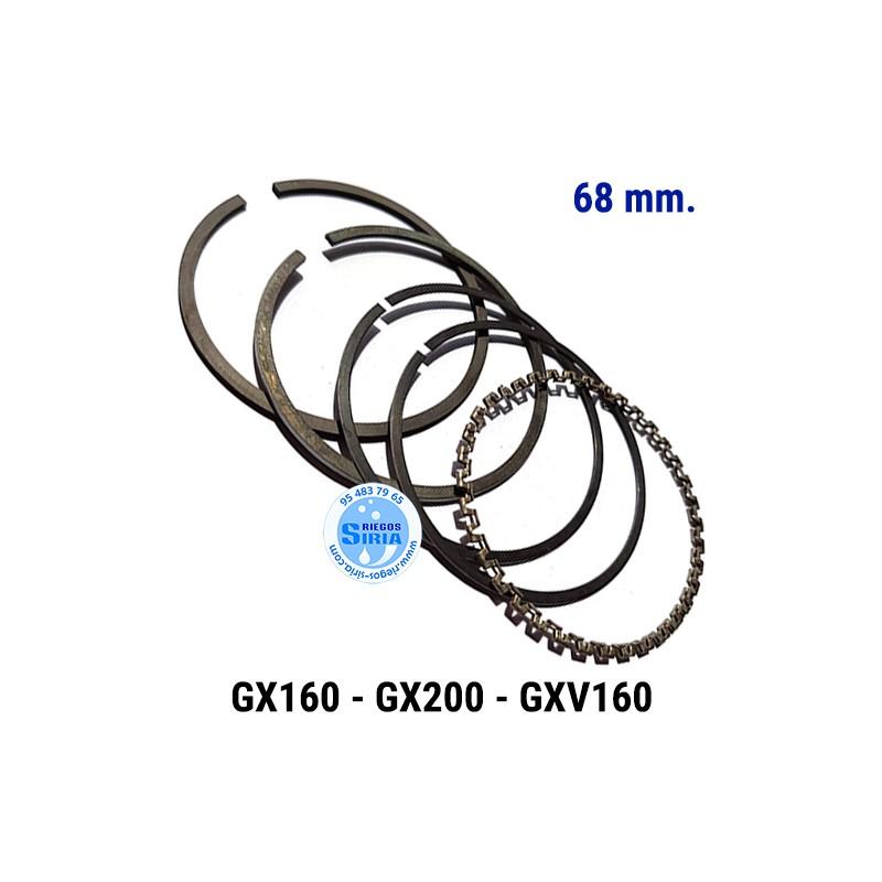 Juego de Segmentos compatible GX160 GX200 GXV160 68 mm. 000140