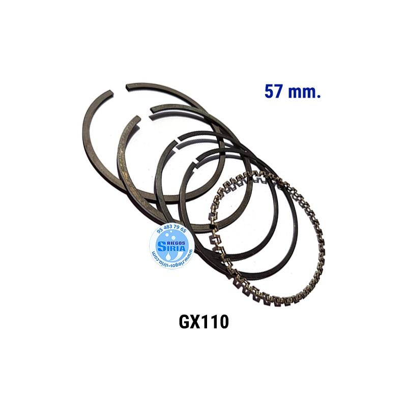 Juego de Segmentos compatible GX110 57 mm. 000177