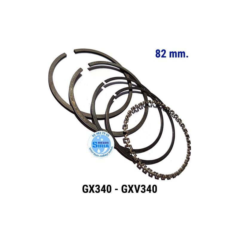 Juego de Segmentos compatible GX-340 GXV-340 82 mm. 000144