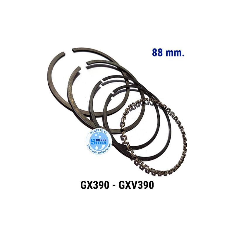 Juego de Segmentos compatible GX-390 GXV-390 88 mm. 000145