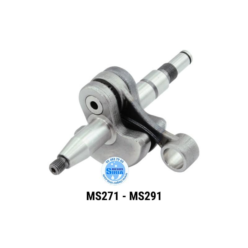 Cigüeñal compatible MS271 MS291 021573