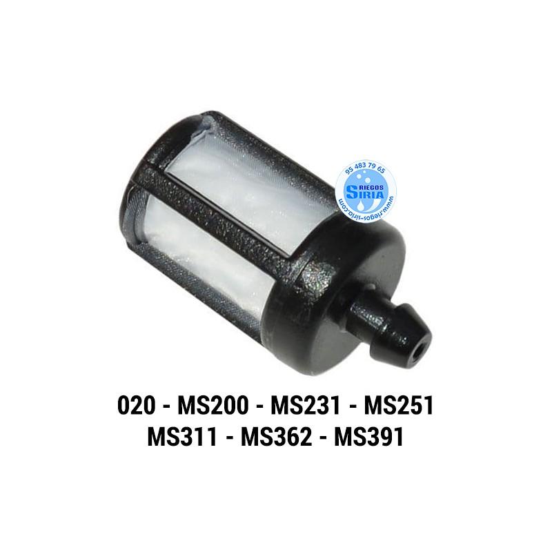 Filtro Gasolina adaptable 020 MS200 MS231 MS251 MS311 MS362 MS391 020210