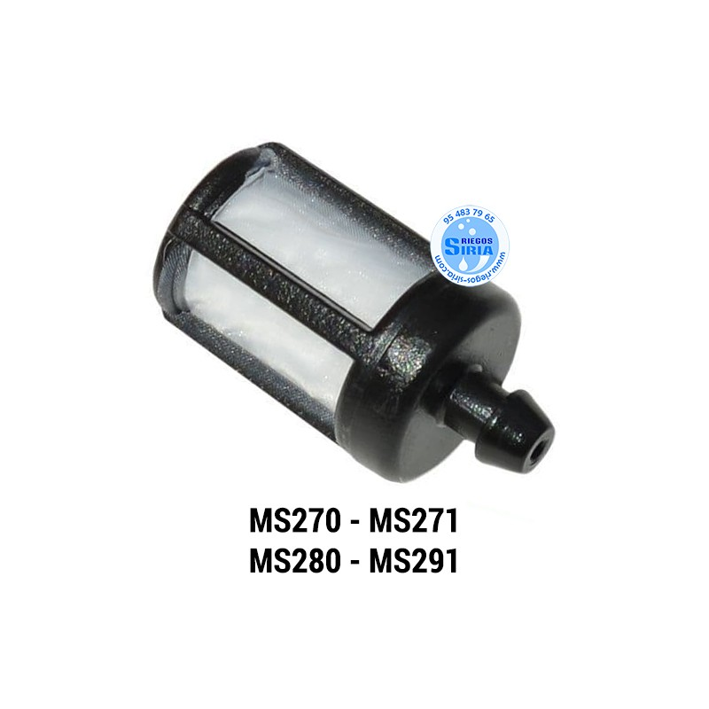 Filtro Gasolina compatible MS270 MS271 MS280 MS291 020210