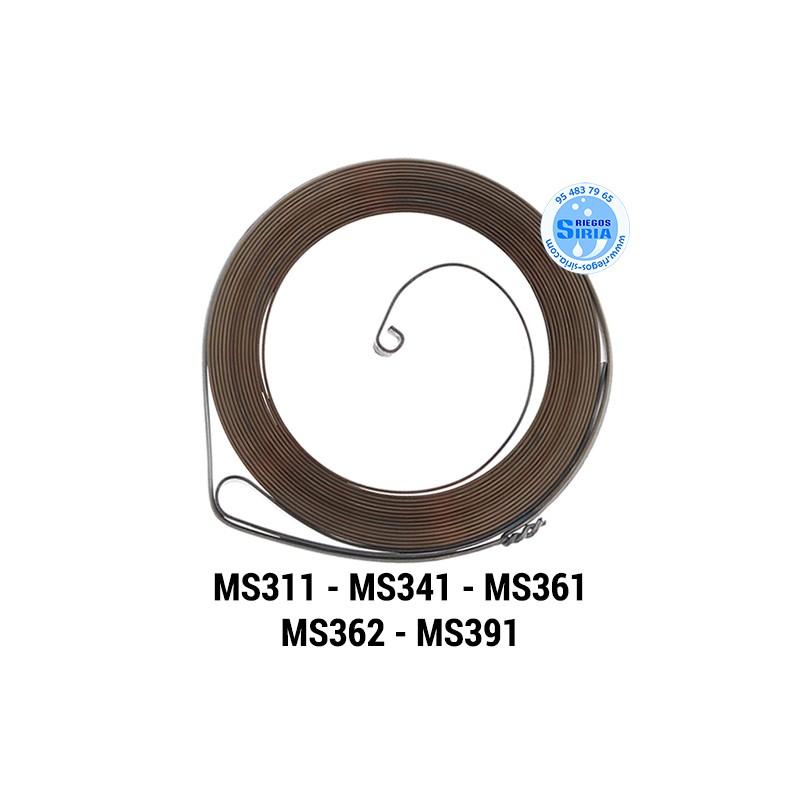 Muelle Arranque compatible MS311 MS341 MS361 MS362 MS391 021047