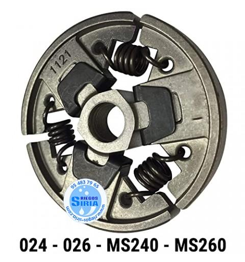Embrague compatible 024 026 MS240 MS260 020149