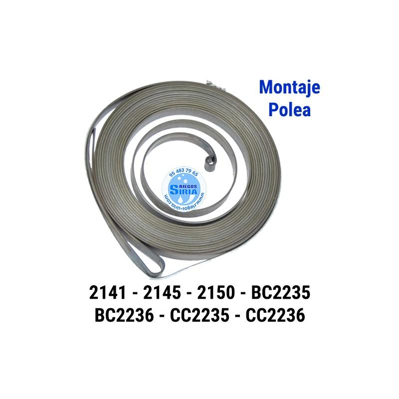Muelle Arranque compatible 2141 2145 2149 BC2236 CC2236 GC2236 030343