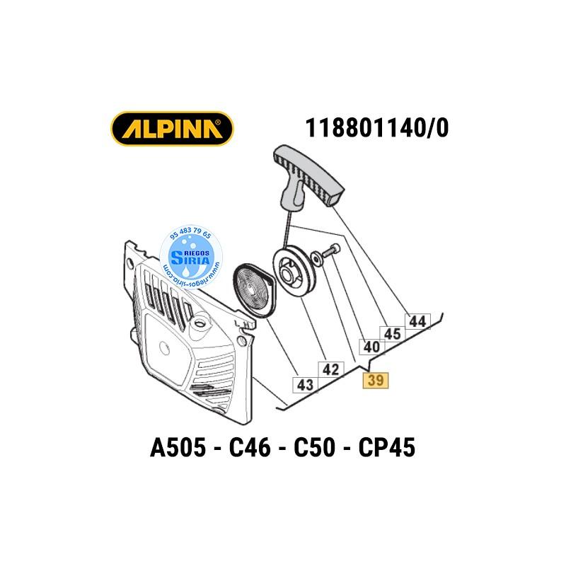Arrancador Alpina A505 C46 C50 CP45 160026