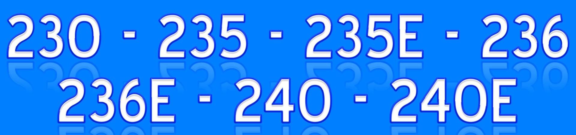 235 236 240