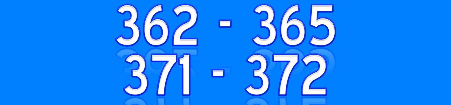 362 365 371 372