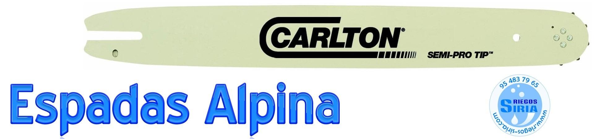 ESPADAS para MOTOSIERRAS ALPINA y DOLMAR