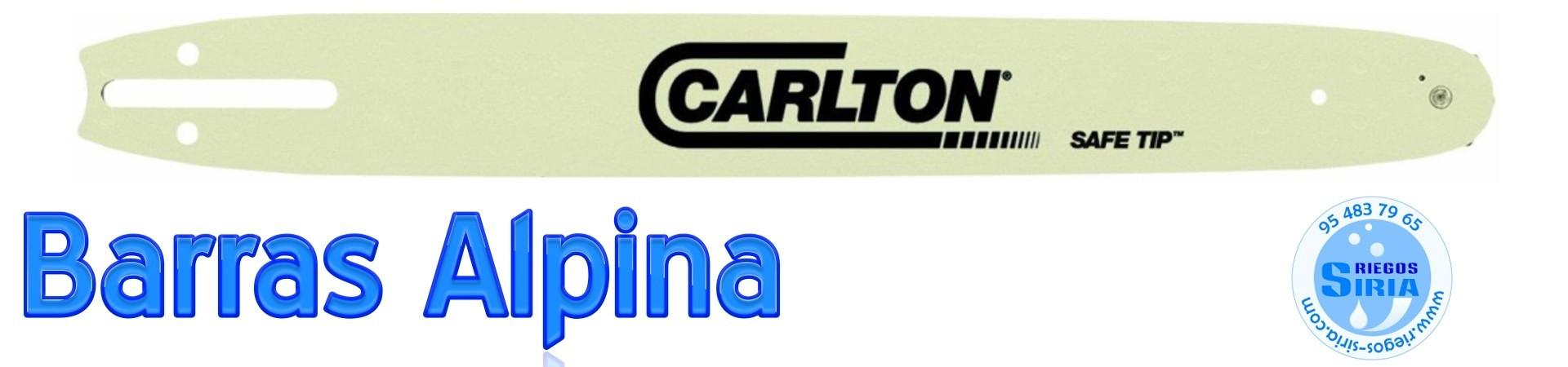BARRAS para MOTOSIERRAS ALPINA y DOLMAR